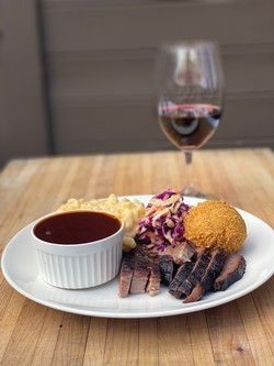 Parallel Wines & Blossom Catering Brisket & Cab May 15